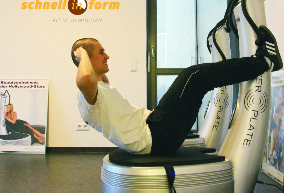 Neu!!! Vibrationstraining in Ebermannstadt