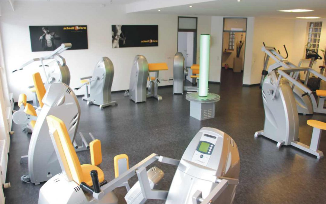 Fitnesstraining am Milon-Zirkel